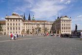 Weiter Platz Prag — Stock Photo