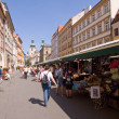 Stock Photo: Prager Markt