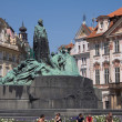 Stock Photo: Jan-Hus-Denkmal Prag