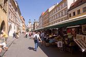 Prager Markt — Stock Photo