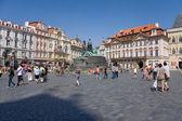 Altstädter Ring Prag — Stock Photo