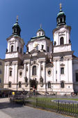 St. Nikolaus Fassade — Stock Photo