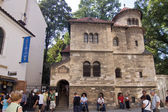 Synagogenfassade — Stock Photo