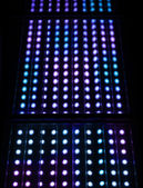 Light spots matrix background — Stock Photo