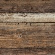 Old weathered plank wood - Stock Photo