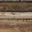 Old weathered plank wood — Stock Photo