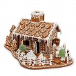 Gingerbread house isolated - Stock Photo