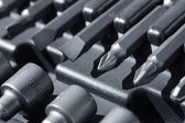 Hard metal tool bits — Stock Photo