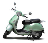 Classic scooter isolated — Stock Photo
