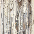 Peeling paint wooden surface — Stock Photo