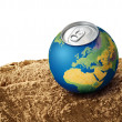 Thirsty planet concept — Stock Photo #31647353