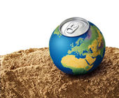 Thirsty planet concept — Stock Photo