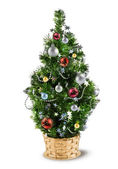 Christmas decoration tree — Stock Photo