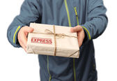 Mail express delivery — Stock Photo