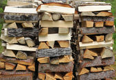 Split firewood — Stock Photo