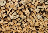 Split firewood — Стоковое фото