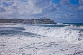Cyclone at Bondi Beach, Sydney — Stock Photo