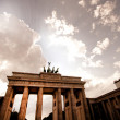 Stock Photo: Brandenberg Gate in Berlin