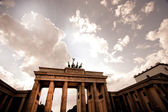 Brandenberg Gate in Berlin — Stock Photo