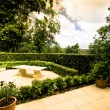 Stock Photo: Outdoor garden terraces