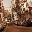 Street in Barcelona — Stock Photo