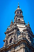 Hermosa arquitectura de un edificio en barcelona — Foto de Stock