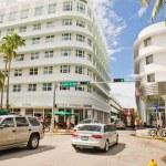 ������, ������: Street scene and architecture of Miami Beach
