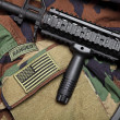Stock Photo: U.S. Army Ranger Still Life