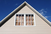 House exterior, roof close-up. — Stock Photo