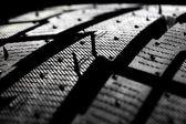 Tire tread close-up. — Stock Photo