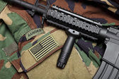 U.S. Army Ranger Still Life — Stock Photo