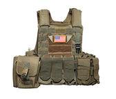U.S. Army tactical bulletproof vest — Stock Photo