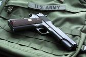 M1911 Mark IV Series 80 pistol — Stock Photo
