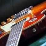Elegant Classic Electric Guitar — Stock Photo #42346235