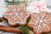 Gingerbread cookie — Foto Stock