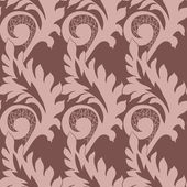 Pattern with lace — Cтоковый вектор