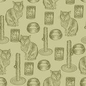 Cats — Stock Vector