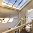 Staircase with skylight and baby room. — Stock Photo #16802857