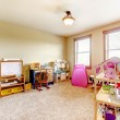 Kids play room with toys. Interior. — Stock Photo