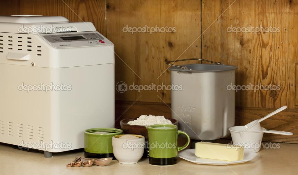 bread making machine ingredients