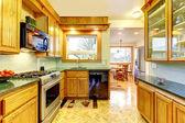 Small cozy kitchen — Stock Photo