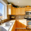 Comfortable big kitchen room — Stock Photo #38943981