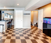Entertainment room with bar — Foto de Stock