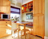 Great idea for kitchen room corner design — Stok fotoğraf