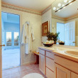 Cozy soft colors bathroom — Stock Photo #40191229
