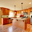 Kitchen room design — Stock Photo #40324573