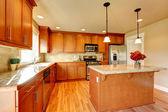 Kitchen room design — Stock Photo