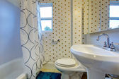 Bathroom design idea — Stock Photo