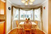 Muito rústica, sala de jantar — Fotografia Stock