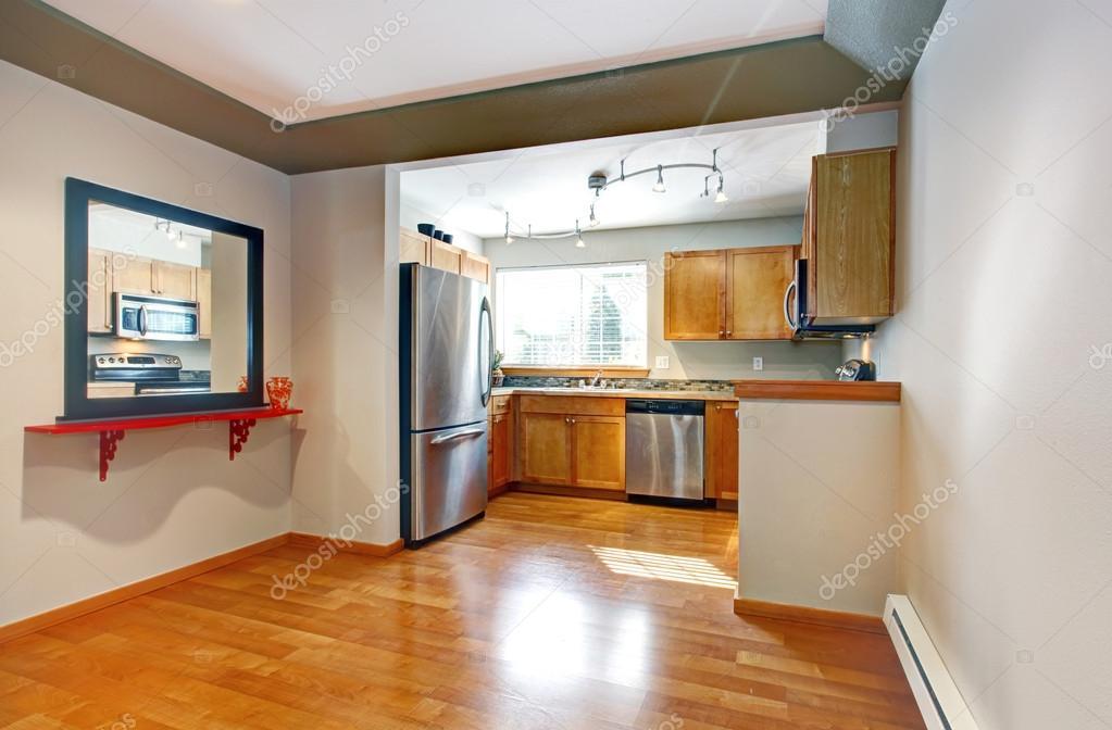 Offenes design idee für küche und esszimmer — stockfoto ...